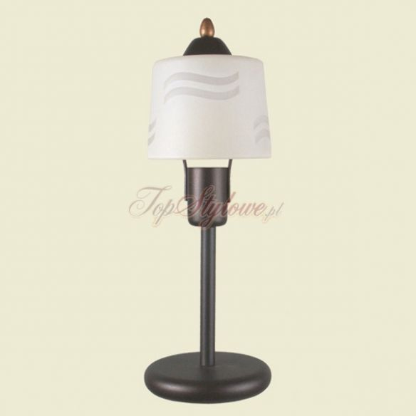 Klasyczna lampa stołowa - SINUS/B1 lampa stołowa Kandel Wysyłka natychmiast!!!!