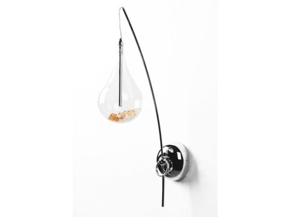 Perle designerski kinkiet W0226-01A-F4RK Zuma Line