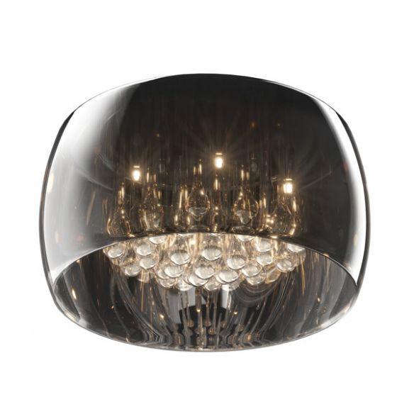 Crystal lampa sufitowa szkło platerowane C0076-05L-F4FZ Zuma Line