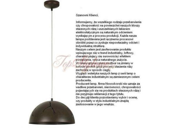 Hempshie CRACKS I lampa wisząca S 6370 Nowodvorski