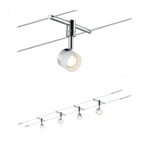Set Stage 94080 system linkowy LED 4 punkty Paulmann