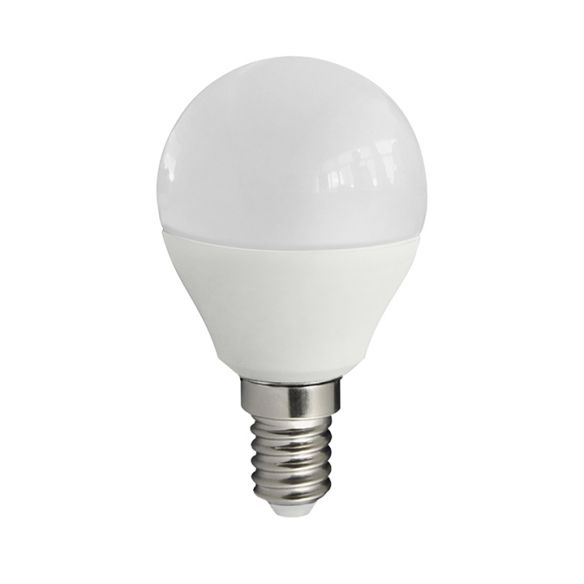 Żarówka LED POLUX Mini G45 E14 7W 640 lumenów 305664 ciepła biała