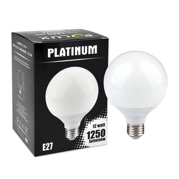 Żarówka LED G95 E27 12W SMDWW 1250lm Polux MEGA CENA!