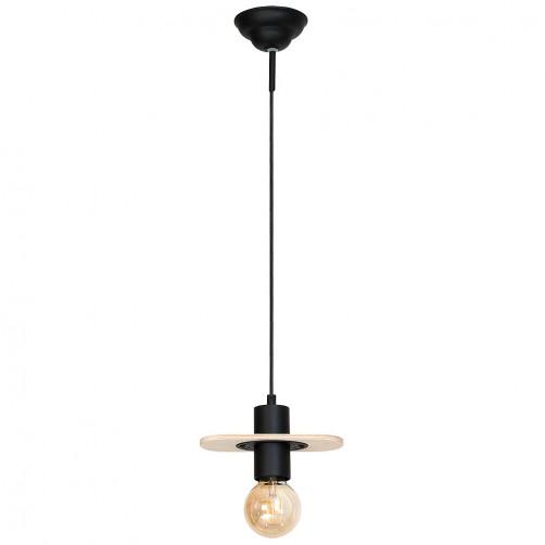 Alba I lampa wisząca w drewnianej oprawie 940G Aldex