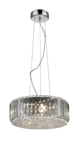 Prince P0360-05B-F4AC kryształowa  lampa wisząca Zuma Line