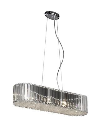 Prince P0360-06D-F4AC kryształowa  lampa wisząca Zuma Line