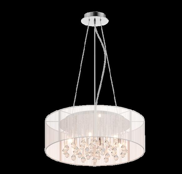 Artemida lampa wisząca ze szklanymi soplami RLD92193-6 Zuma Line