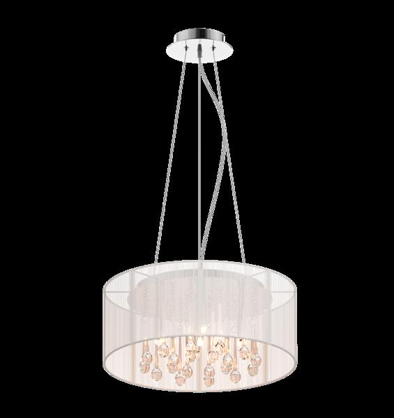 Artemida lampa wisząca ze szklanymi soplami RLD92193-5 Zuma Line
