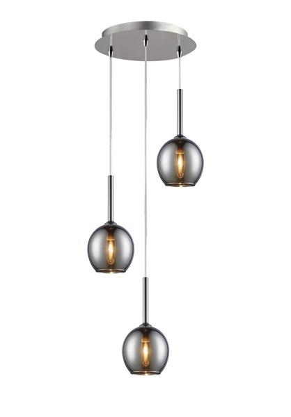 Monic  nowoczesna lampa wisząca koło MD1629-3B  (chrome) Zuma Line