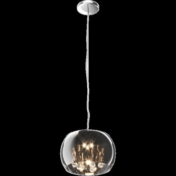 Crystal lampa wisząca szkło platerowane P0076-03E-F4FZ Zuma Line