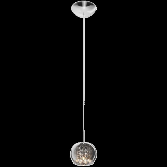 Crystal lampa wisząca szkło platerowane P0076-01A-F4FZ Zuma Line
