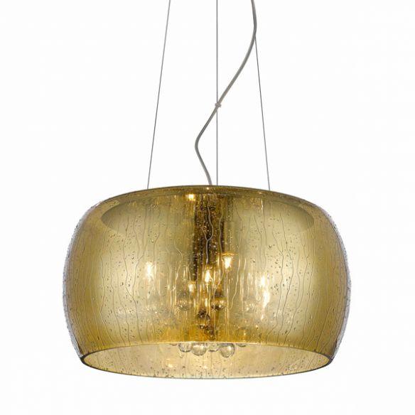 Rain lampa wisząca efekt deszczu P0076-05L-F7L9 (gold)  Zuma Line
