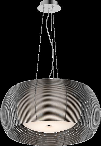 Tango nowoczesna lampa wisząca podwójny klosz MD1104-2L (SILVER) Zuma Line