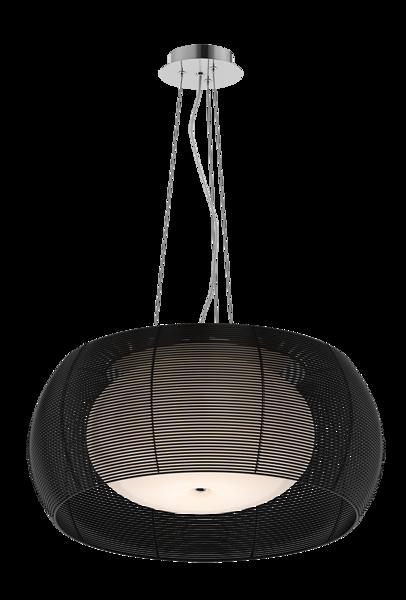 Tango nowoczesna lampa wisząca podwójny klosz MD1104-2 (BLACK) Zuma Line