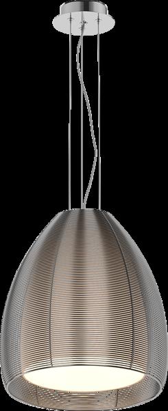 Pico nowoczesna lampa wisząca podwójny klosz MD9023-1L (SILVER) Zuma Line