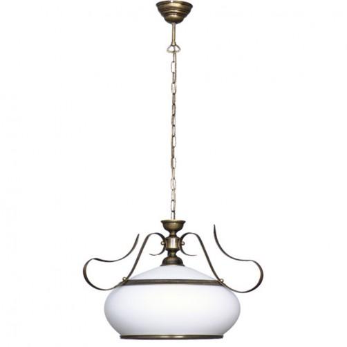 Patyna VIII 493G klasyczna lampa wisząca Aldex