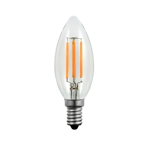 360° Żarówka dekoracyjna LED FC37 EDIDECO E14 175lm, 3,7W, 2200K Filament 360° 304483