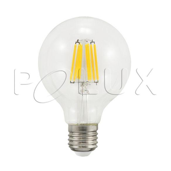 360° Żarówka dekoracyjna LED G80 E27 810lm, 7W, 3000K 308924