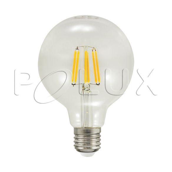 360° Żarówka dekoracyjna LED G95 E27 1055lm, 7,5W, 3000K 308580
