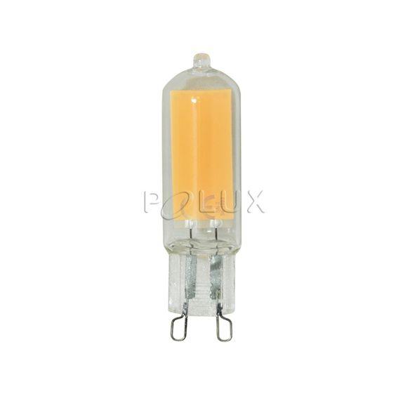 G9 420lm, 4W,Żarówka LED COB szklana