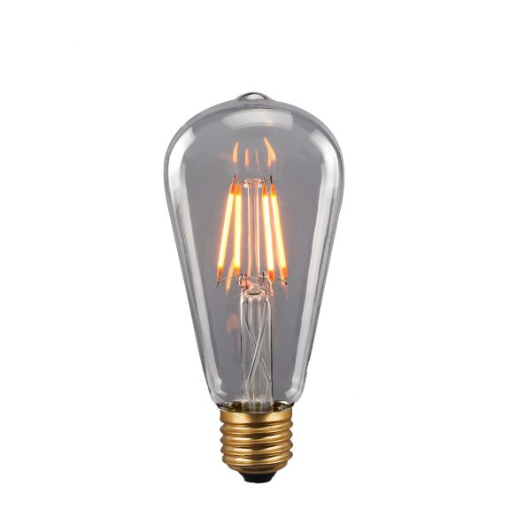 Retro LED bulb E27 4W 380464 ozdobna żarówka Italux
