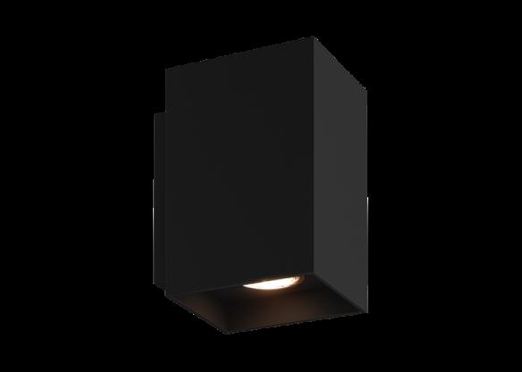 SANDY WL SQUARE 92697 white, 92698 black geometryczny kinkiet Zuma Line