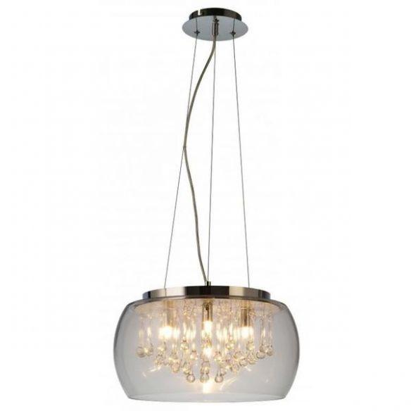 Luce RLD92132-5 lampa wisząca z kryształowymi kroplami  Zuma Line