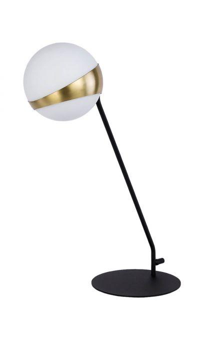 Elfa 1712 EL L cz/ms nowoczesna lampa stołowa Jupiter
