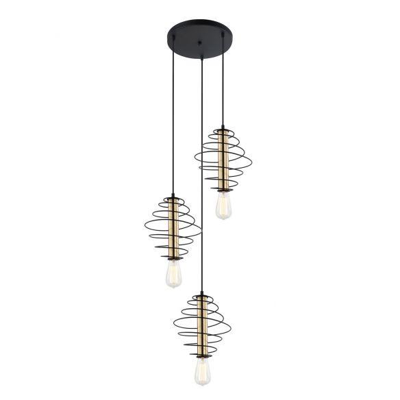 Mirren MDM-3932/3 BK+BRO lampa wisząca Italux