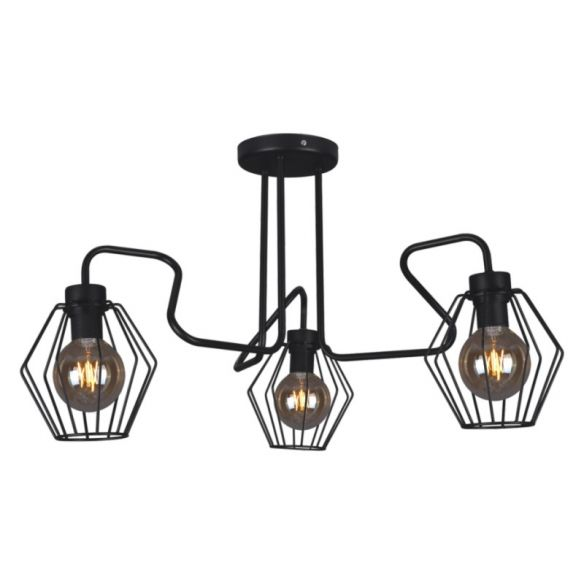 Flexy lampa sufitowa K-4590 black, K-4593 white, K-4596 gray Kaja