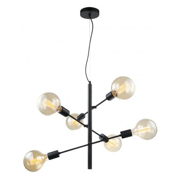 Madalyn  MDM3582/6 BK lampa wisząca Italux