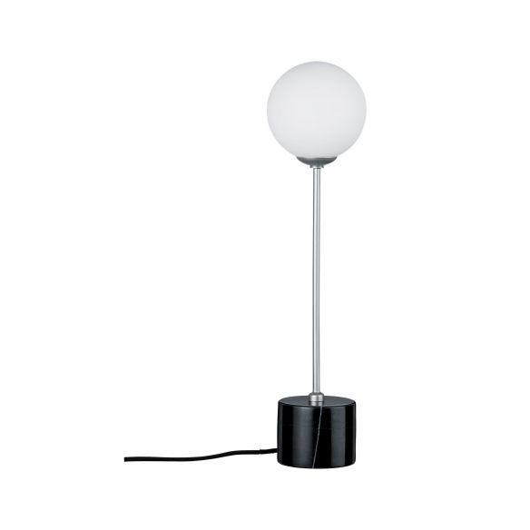 Moa lampa stołowa z marmurową podstawą 79688 Paulmann