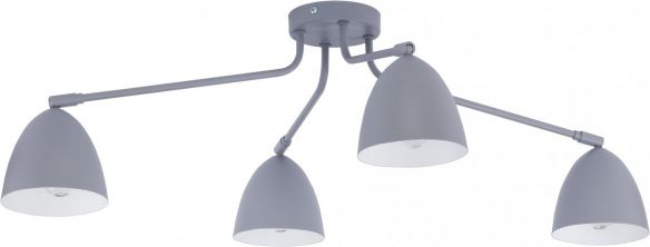 Loretta lampa sufitowa z ruchomymi kloszami  2373 white, 2378 gray, 2485 black TK Lighting