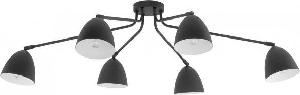Loretta lampa sufitowa z ruchomymi kloszami  2374 white, 2379 gray, 2486 black TK Lighting