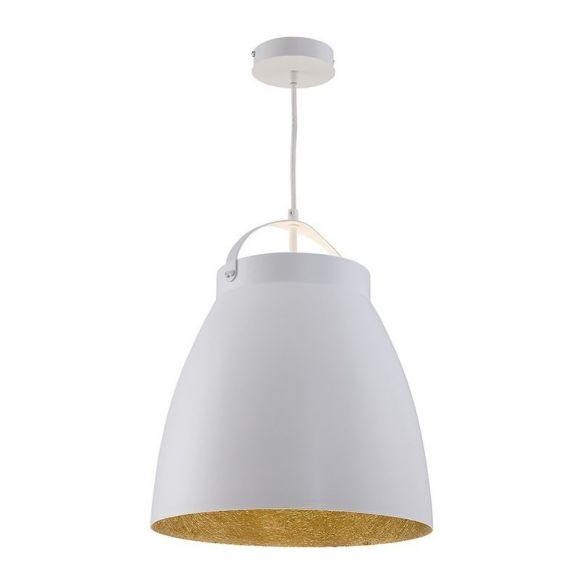 Neva M 30815 biały/złoty nowoczesna lampa wisząca Sigma