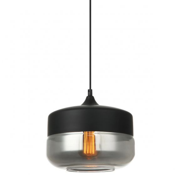 Molina Lampa Wisząca MDM-2380/1 BK+SG Italux