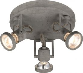 Concreto LED lampa sufitowa/spot 50491 imitacja betonu  Britop Lighting
