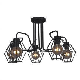 Flexy lampa sufitowa K-4591 black, K-4594 white, K-4597 gray Kaja