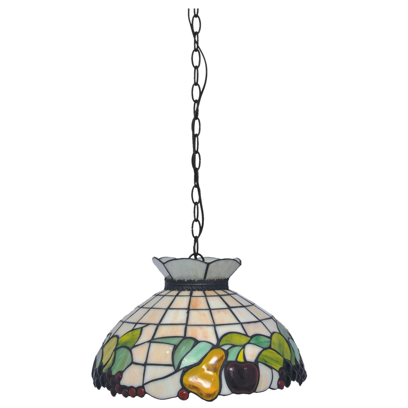 Fruit Lampa Wisząca Witrażowa W Stylu Tiffany K P16550 Kaja