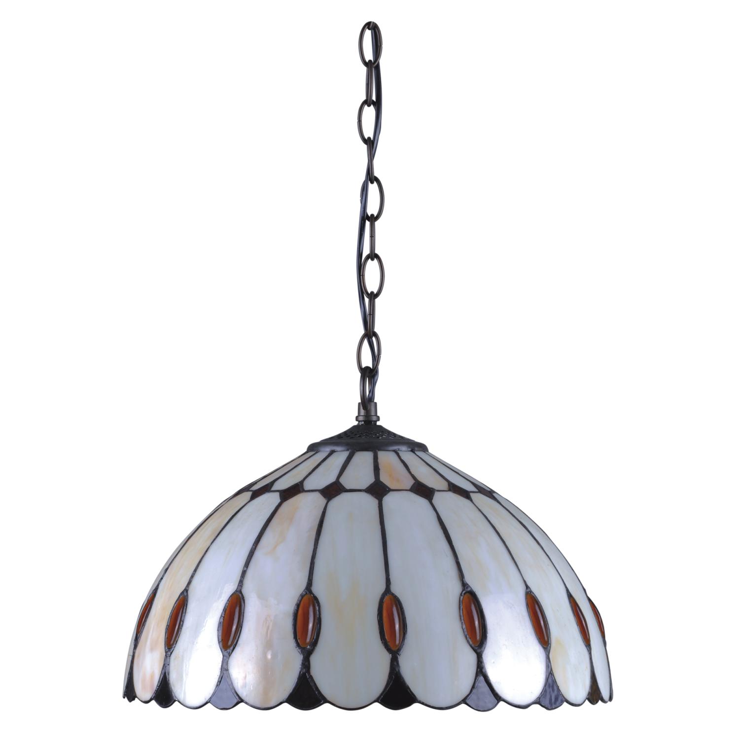 Catania Lampa Wisząca Witrażowa W Stylu Tiffany K P162611