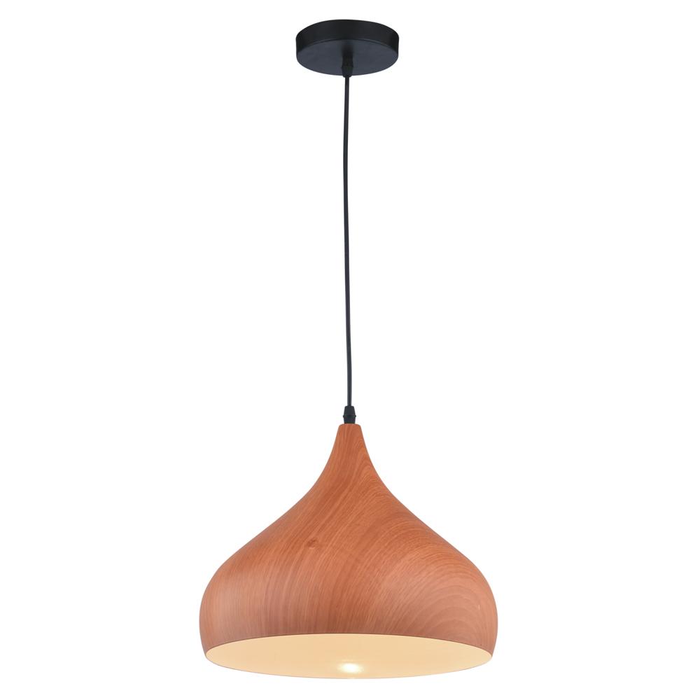 Forge K 8022 Lampa Wisząca Imitacja Drewna Kaja Oświetlenie