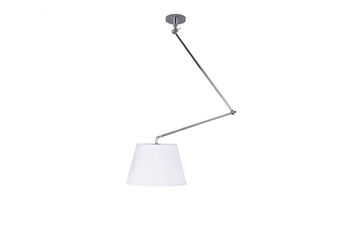 Adam S white pendant lampa na wysięgniku AZ1841+AZ2588