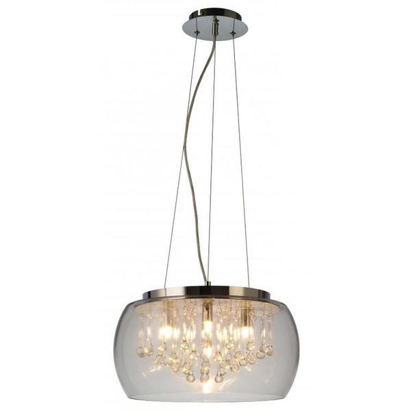 Luce Rld92132 5 Lampa Wisząca Z Kryształowymi Kroplami Zuma