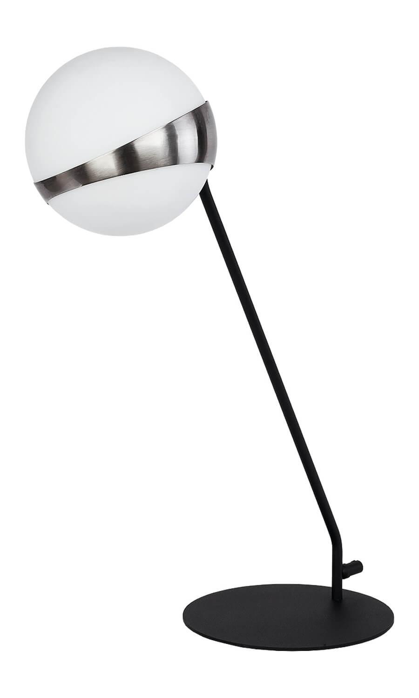 Elfa 1717 EL L cz/ni nowoczesna lampa stołowa Jupiter
