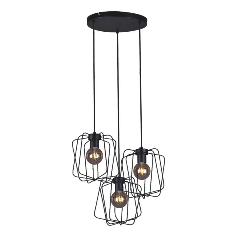 Alto lampa wisząca ażurowa K 4273 black, K 4283 gray Kaja