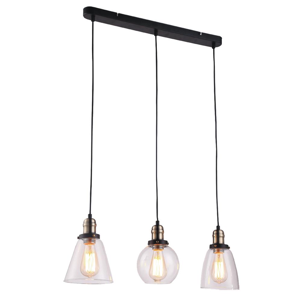 Samanta K 8036a 3 Lampa Wisząca Kaja Oświetlenie Wewnętrzne